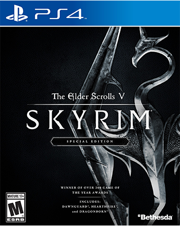 Skyrim: Special Edition Cover Art