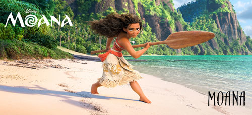 Character shot of Moana