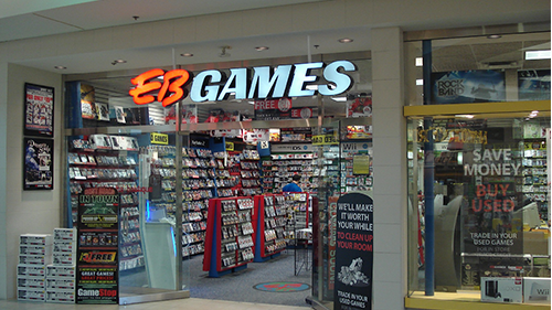 EB Games' Storefront.