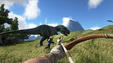 Let's take down a T-Rex!