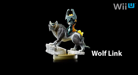 The new Wolf Link amiibo! So pretty.