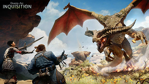 Slay giant dragons in the excellent Dragon Age: Inquisition.