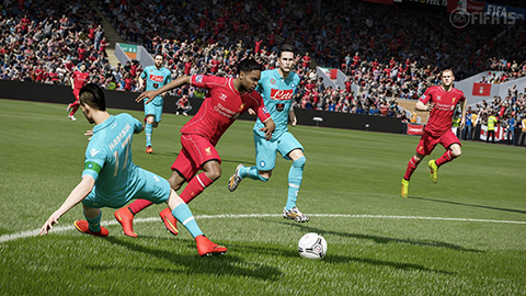 Out play your friends in a little Fifa 15.