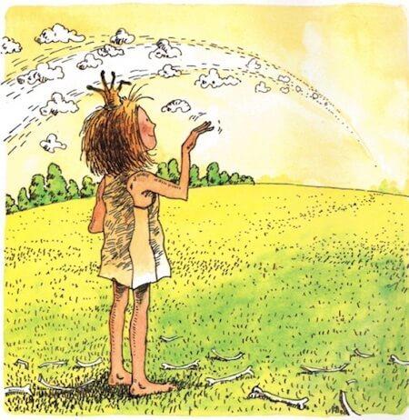 Bye bye, dragon! The Paper Bag Princess is a fantastic story.