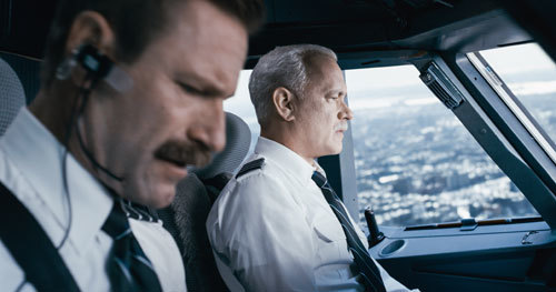 Sully and Skiles realize they can't make it to any landing strip