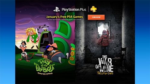 January 2017's lineup for PlayStation Plus.