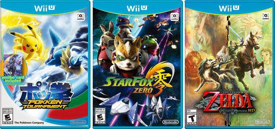 Kidzworld's Gift Guide Wii U Games