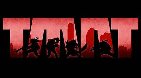 Rad new logo for TMNT: Mutants In Manhattan.