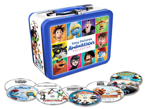 SONY Pictures Animation Lunchbox Set