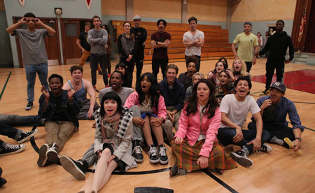 Cast is ready for a dance rehearsal