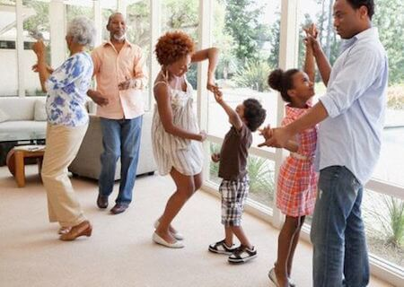 Take a dance break with your family!