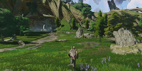 Scalebound promises a huge, expansive world to explore.