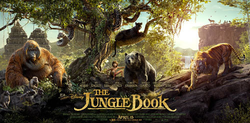 Disney's THE JUNGLE BOOK- New Poster
