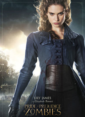 Lily as Elizabeth Bennet