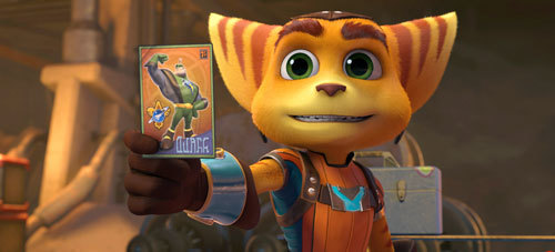James Arnold Taylor stars as the voice of Ratchet