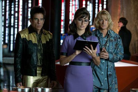 Zoolander, agent Valentina and Hansel at Interpol headquarters