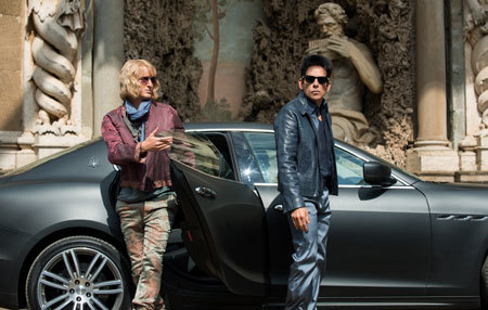 Hansel and Zoolander in Rome