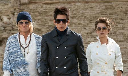 Hansel, Zoolander and Valentina confront Mugatu