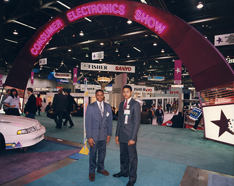 The last Consumer Electronics Show the gaming industry attended (1993).