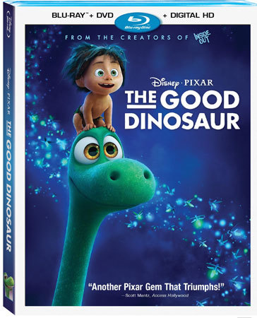 The Good Dinosaur Blu-ray Cover