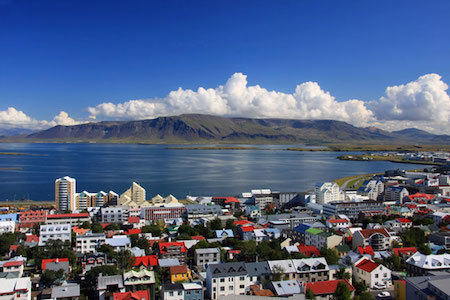 Iceland is a little isolated, but it's known to be a happy country nevertheless!