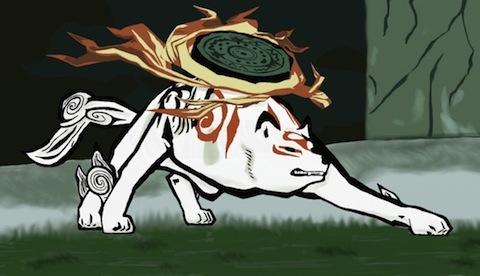 Amaterasu is actually a sun goddess!