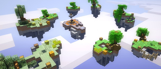 minecraft mini game skywars download
