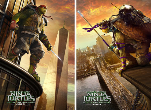 Raphael and Donatello Posters
