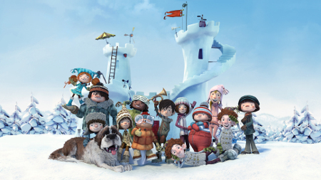 SNOWTIME! is in theaters now!