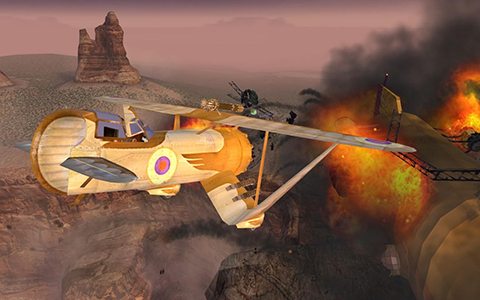 Crimson Skies would make for an awesome new aerial combat game.