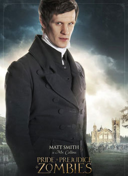 Matt Smith as Mr. Collins