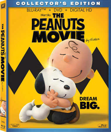 THE PEANUTS MOVIE Collector's Edition Blu-ray