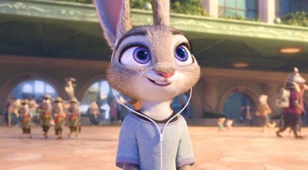 Judy enjoys her time in the big city