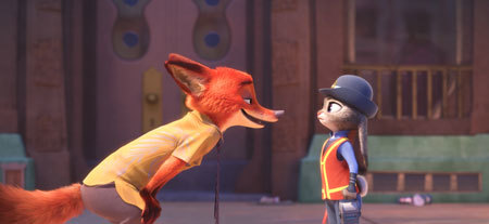 Nick Wilde and Judy Hopps