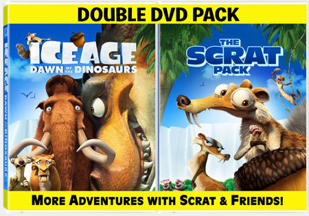 Ice Age: Dawn Of The Dinosaurs Scrat Pack Double DVD Pack
