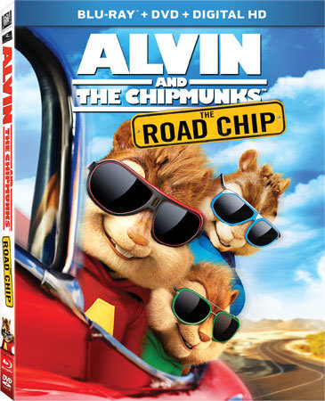 Alvin and the Chipmunks: The Road Chip Blu-ray