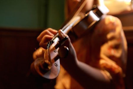 The fiddle is often used in traditional Irish music.