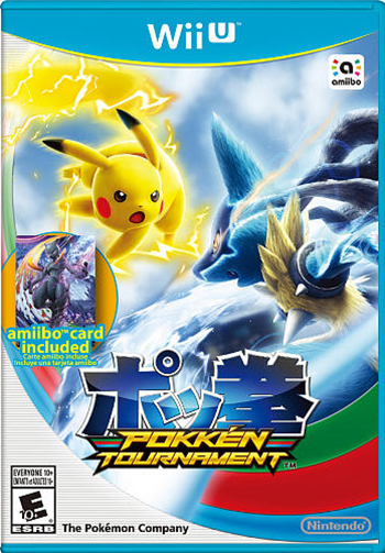 Pokken Tournament is available March 18th, 2016 for Wii U!