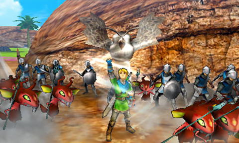 Hyrule Warriors Legends is coming soon for Nintendo 3DS!