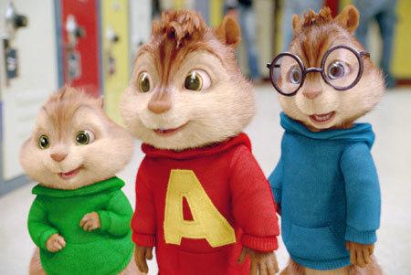 Theodore, Alvin and Simon