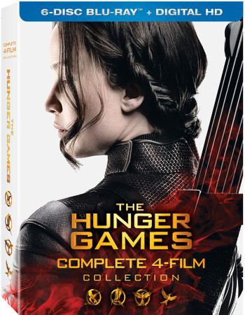 The Hunger Games: The Complete 4-Film Collection Blu-ray