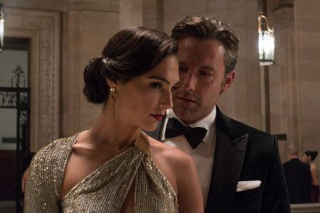 Bruce Wayne (Ben) meets Diana Prince (Gal)