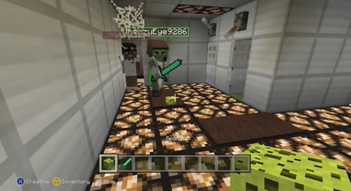 Starlord and friends survive Minecraft's version of Five Nights At Freddy's!