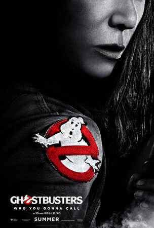 Ghostbusters poster featuring Kristen Wiig