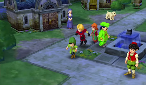 The world of Dragon Quest VII has been completely rebuilt for Nintendo 3DS