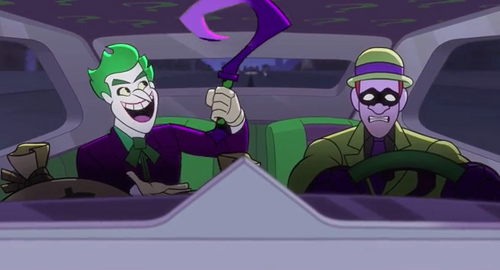 The Joker and Riddler are up to no good in episode 1 of DC Super Friends.