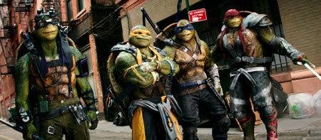 Raphael, Michelangelo, Leonardo, and Donatello are back!