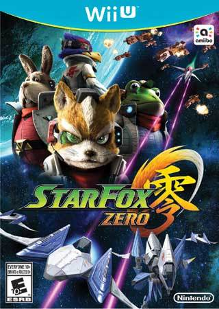 Star Fox Zero Wii U Box Art