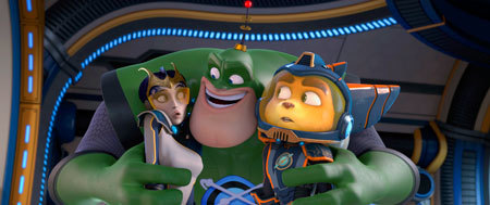 Elaris, Captain Qwark and Ratchet