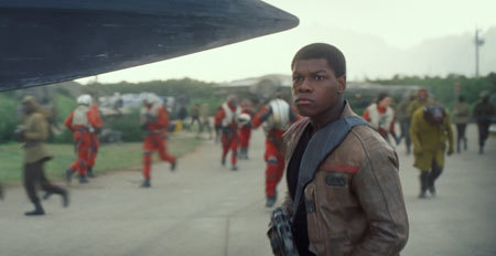 Finn joins the rebellion